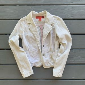 Cream Mossimo Corduroy Jacket